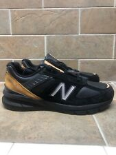 New Balance 990v5 Rare Not Released Made in USA Size 11 Black Leather M990BB15