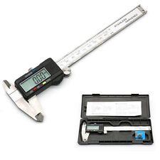 """6"""" 150mm Digital Vernier Caliper Gauge LCD Display Electronic Micrometer Tool UK"""