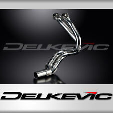KAWASAKI ER6N ER6F 06-11 STAINLESS STEEL 2-1 EXHAUST DOWNPIPES OEM COMPATIBLE