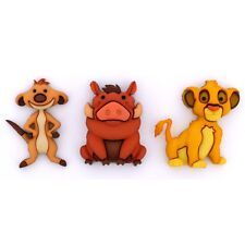 Jesse James Buttons Dress It Up - DISNEY SIMBA, TIMON & PUMBA - The Lion King