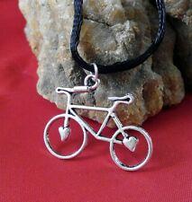 Colgante Bicicleta Con Corazón En Las Ruedas Deporté Ciclismo Triatlón Hipster a