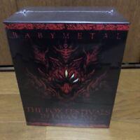 BABYMETAL 6 Blu-ray Box THE FOX FESTIVALS IN JAPAN 2017 Rare Unopened