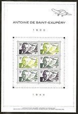 FRANCE 2021 Bloc Feuillet N° Antoine de SAINT EXUPERY  NEUF**LUXE MNH