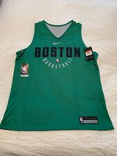 Boston Celtics Official Nike Practice Reversible Jersey Size Large Team Issued
