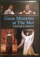 Great Moments at the Met - Viewer's Choice [DVD, 2007]