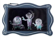 Disney Parks Haunted Mansion 3 Hitchhiking Ghosts Lenticular Clutch Pouch Bag