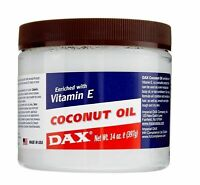 Dax Coconut Oil Enriched With Vitamin E For Skin And Hair 14oz (397g)