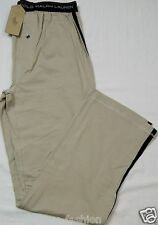 Polo Ralph Lauren Men's Pajama Lounge Pants Brown S 28-30 Stretch Cotton Spandex
