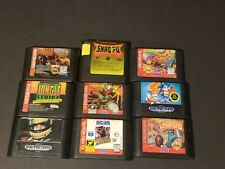 Sega Genesis Games Lot Carts Tested(Sonic 2,Eternal Champions,Vectorman 2,Other)