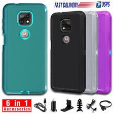 For Motorola Moto G Power 2021 Case Hybrid Rugged Hard Phone Cover / Accessories