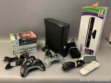 New listing  Black Xbox 360 with Games