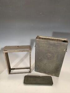 "Vintage 1908 Pat. Kodak Plate Developing Tank for 8""x10"" Film Unused Rare Find"