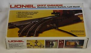 Lionel 6-5121 O27 Gauge Remote Control Switch Left Hand New Factory Sealed Box