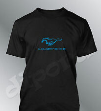 Camiseta personalizado Mustang S M L XL XXL hombre GT500 shelby muscle coche