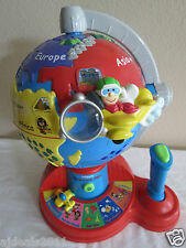 """VTECH """"FLY & LEARN"""" DISCOVER GLOBE, VERY BRIGHT COLORS - BOYS & GIRLS"""