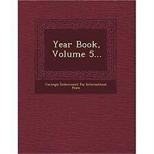 Year Book, Volume 5... (2012, Paperback)