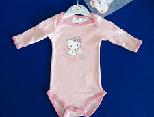 BODY MANICHE LUNGHE HELLO KITTY ROSA BIMBA TGL 23 MESI