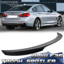 Unpaint BMW F36 Gran Coupe Fastback Performance Trunk Spoiler 430d 420i ABS 2017