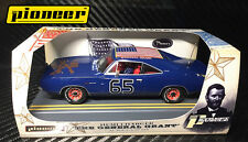 Pioneer Slot Car P096 General Grant Union Blue Red Rims