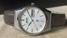 Vintage SEIKO Quartz Watch/ KING TWIN QUARTZ 9723-8050 SS 1979