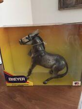 Breyer Glossy Gray Appaloosa Balking Mule MOLLY w/tag NIB