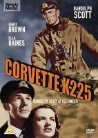 Corvette K-225 DVD (2016) Randolph Scott, Rosson (DIR) cert PG ***NEW***