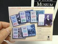 1992 Voyages of COLUMBUS STAMPS 6 Souvenir Sheets US Postage Stamp Unused Mint