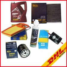 Inspektionspaket + Motoröl SCT Aktivkohle VW Golf 4 1.4 16V & 1.6 16V (55/77kW)