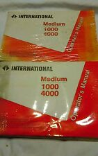 Z442) International IH Operator Manual Medium Duty 1000 4000