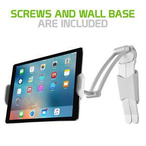 Universal Desktop/ Wall Holder Mount w/ 360° Rotation for Apple iPad Tablet Fire