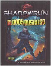 Catalyst Shadowrun 5th Ed Bloody Business HC New