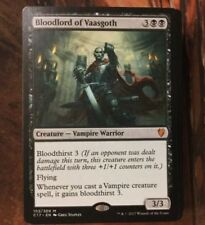 Black Vampire Deck - Custom MTG Magic the Gathering Deck Bloodlord Of Vaasgoth