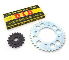 ✴ Chain & Sprockets Kit - Honda CB550 CB550K CB550F 1974-1978 ✴ 17T 37T 100L ✴