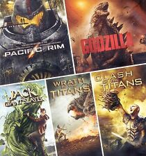 5 PG-13 monster movies 2010-2014, new DVDs, Pacific Rim, Godzilla, Jack, Titans