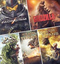 5 PG-13 monster movies 2010-2014, new DVDs, Pacific Rim, Godzilla, Jack, Titans