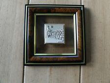 More details for israel artist saad cristal sterling silver 925 jerusalem wall plague art