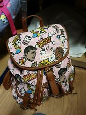 HT London Pink Rucksack Backpack  Bang! Pop Art