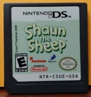 Shaun The Sheep  - Nintendo DS DS Lite 3DS 2DS Game Tested Works