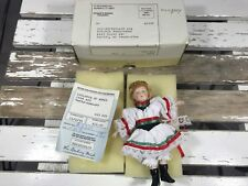 Danbury Mint Children The World Collectables Dolls International Hungary doll