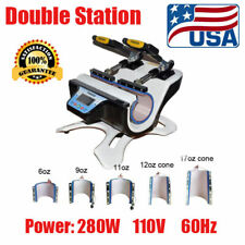 5 in 1 Combo Automatic Mug Heat Press Machine Double Station Cup Transfer Print