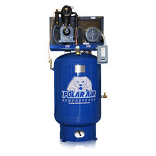 5HP 2 Stage 3 Phase 460V 120 Gallon Tank Vertical Air Compressor