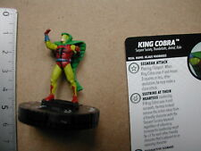 Nr 014 KING COBRA    + CARD       HEROCLIX