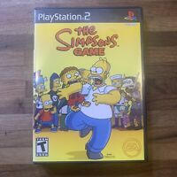 The Simpsons Game (Sony Playstation 2 PS2) Complete