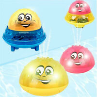 Children electric Induction sprinkler Water Spray Toy Light Bath Toy baby Play