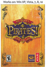 Sid Meier's Pirates PC Game Meiers