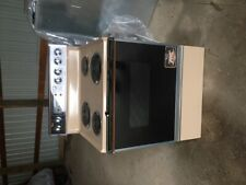 Whirlpool Coil Electric Range Brand New! 1981 Toast!