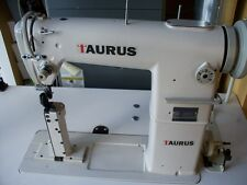 Taurus 810 narrow post bed ,roller feet industrial sewing  machine with servo