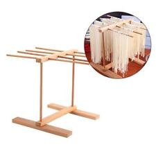 Collapsible Pasta Noodles Drying Rack Wood Kitchen Storage Dryer Stand Kitchen