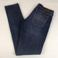 Lucky Brand Charlie Skinny Jeans Women's 2/26 Stretch Dark Wash