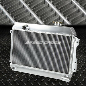 FOR 68-73 DATSUN 510 SRL311/SR/521 PICKUP L4 3-ROW FULL ALUMINUM RACING RADIATOR